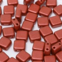 2 hole tile 01890 jet lava red
